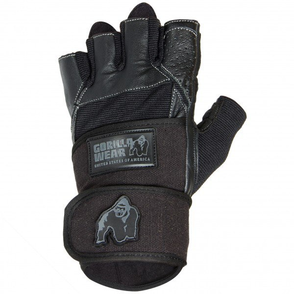 Перчатки Dallas Wrist Wrap Gloves Black