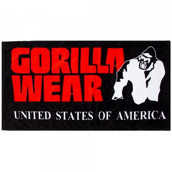 Полотенце Functional Gym Towel Black/Red