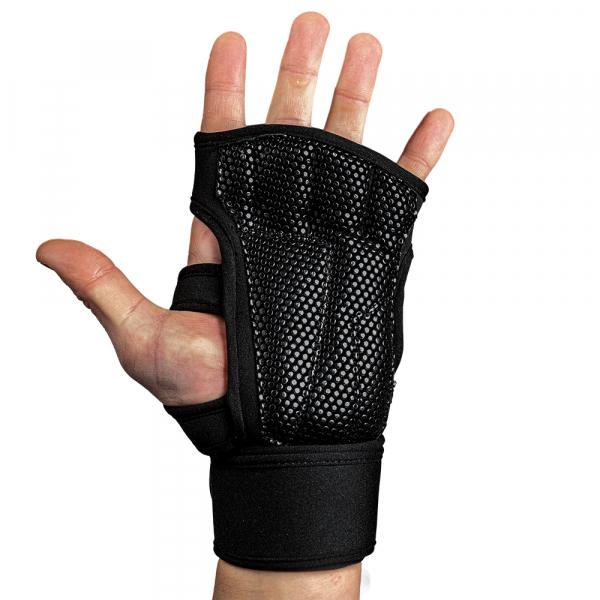 Перчатки Yuma Weight Lifting Workout Gloves Black