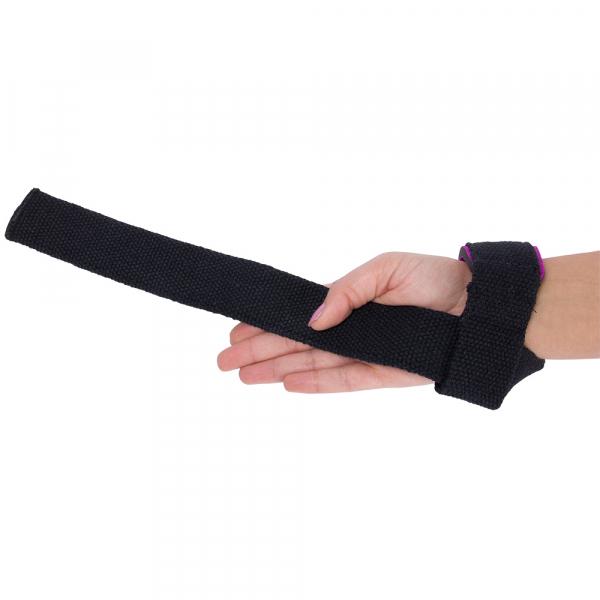 Лямки женские Padded Lifting Straps Black/Purple5