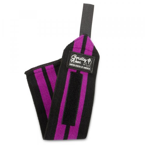 Women's Wrist Wraps Black/Purple