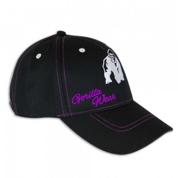 Lady Logo Cap BlackPurple