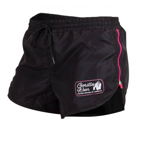 Шорты Women's New Mexico Cardio Shorts Black/Pink