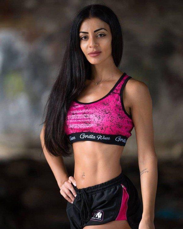 Топ Hanna Sports Bra Black/Pink